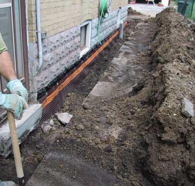 leaky basement reapairs